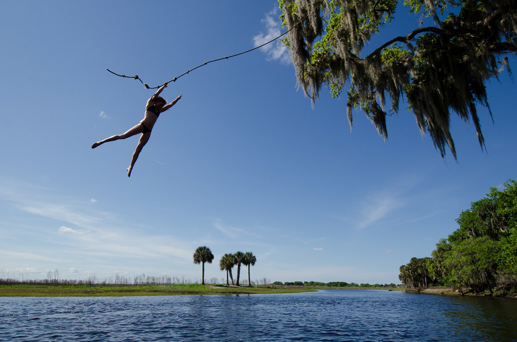 St Johns River On Day 60 Of Their Journey The Florida
