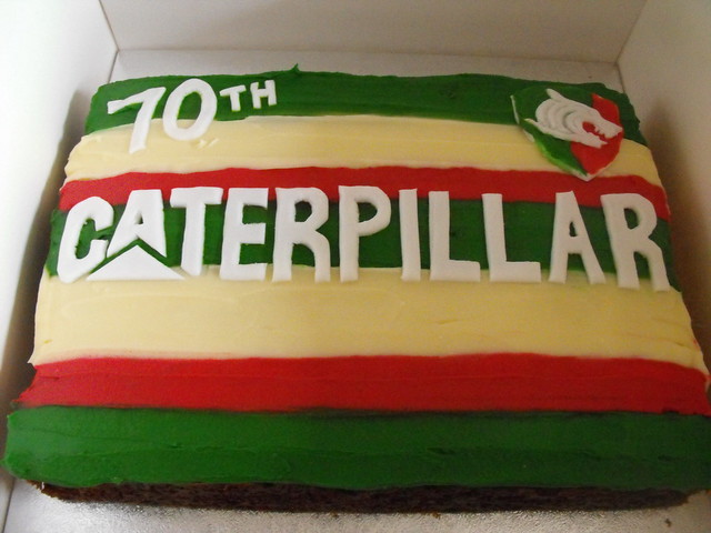 Leicester Tigers Birthday Cake