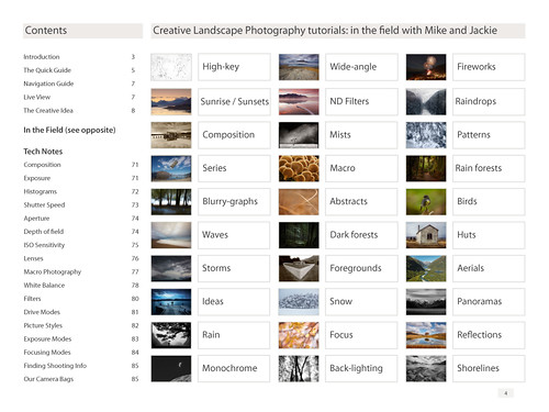 Creative Landscape Photography book sample page 1 | by Cameralabs