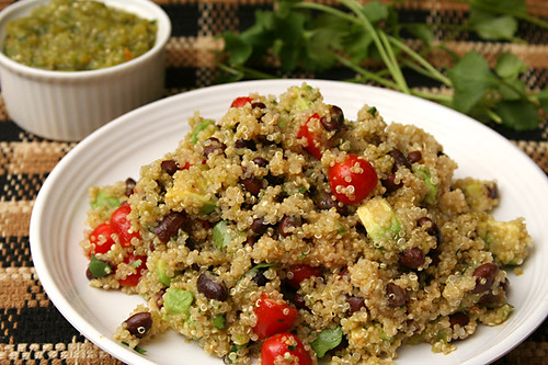 black bean quinoa 5 | by crumblycookie