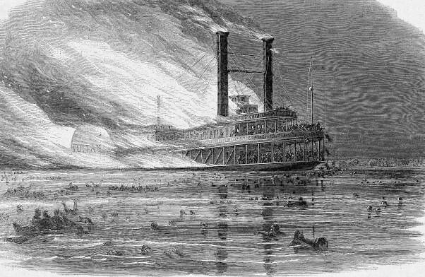 The Sultana Disaster 1 800 Killed Ss Sultana Was A