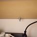 Ikea MICKE Desk Hack - View from underneath