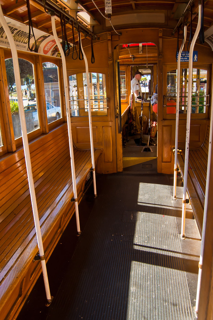 usa california san francisco cable car interior flickr. Black Bedroom Furniture Sets. Home Design Ideas