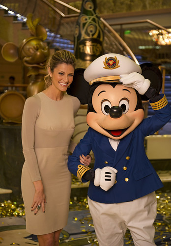 Erin Andrews, Mickey Mouse | by insidethemagic