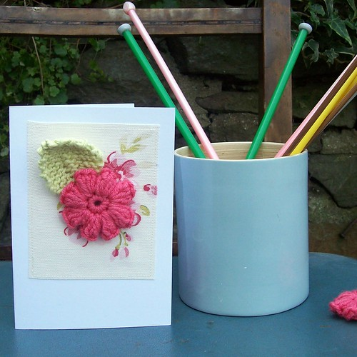 crochet and knit greetings card | by helen limbrick