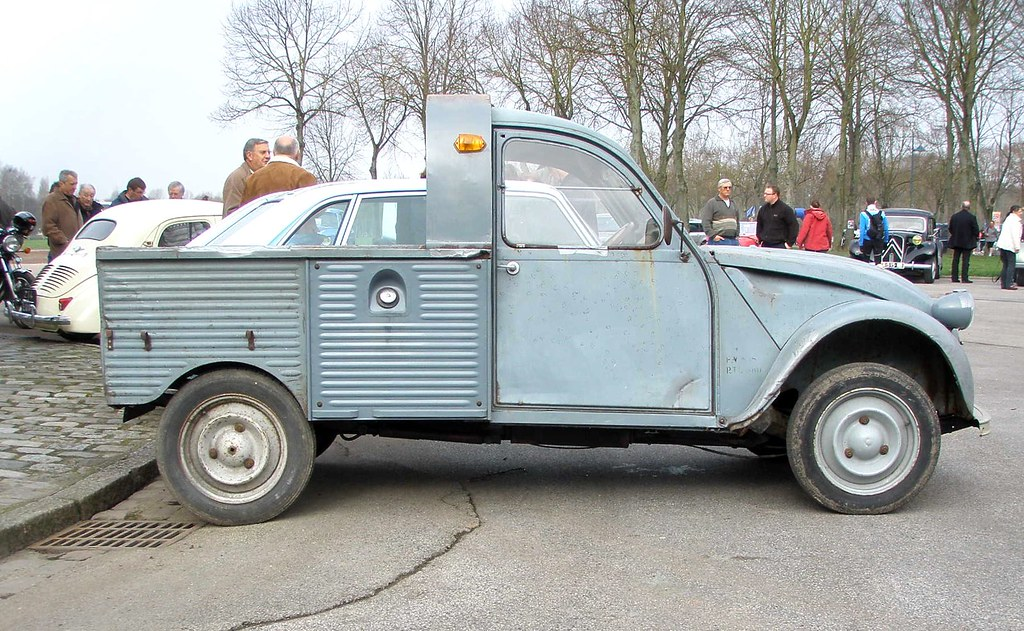 citroen 2cv pick up amiens la hotoie 11 mars 2012. Black Bedroom Furniture Sets. Home Design Ideas