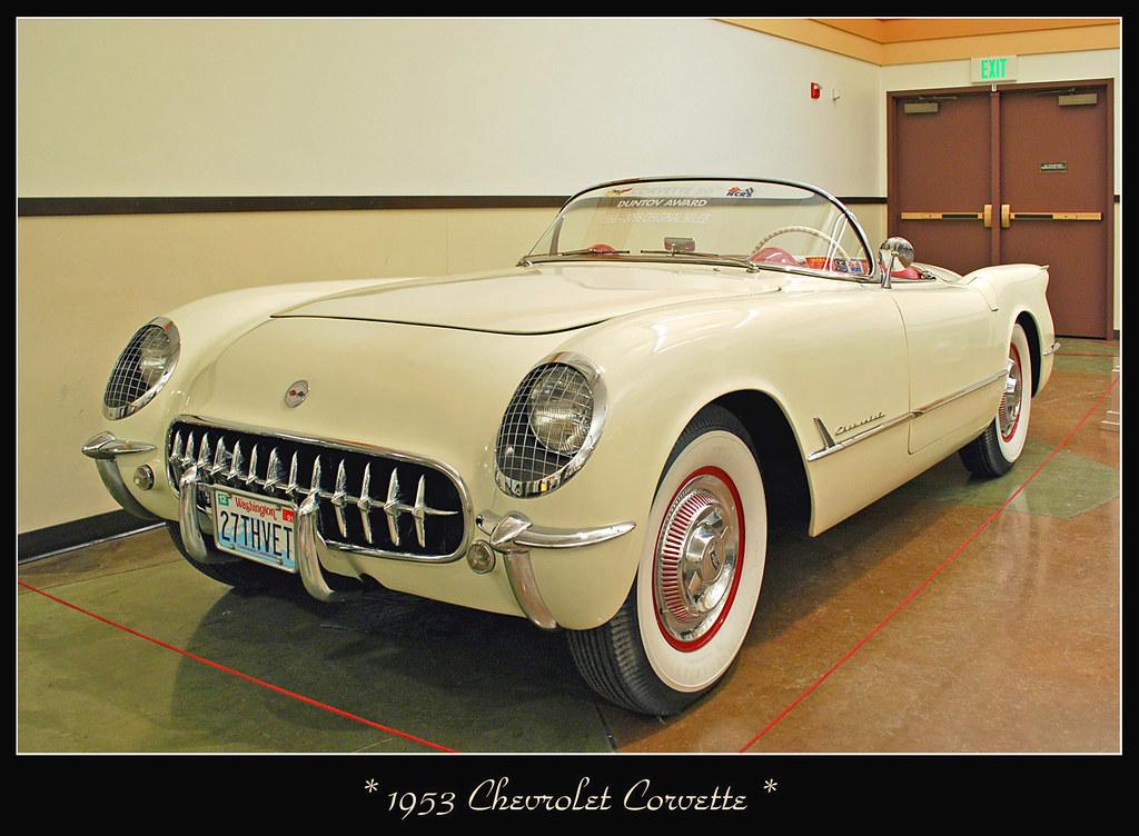 1953 Chevrolet Corvette - Corvette's First Year
