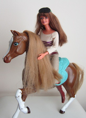 horse riding barbie flickr photo sharing