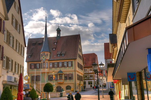 bietigheim bissingen germany town hall hdr lens nikon. Black Bedroom Furniture Sets. Home Design Ideas