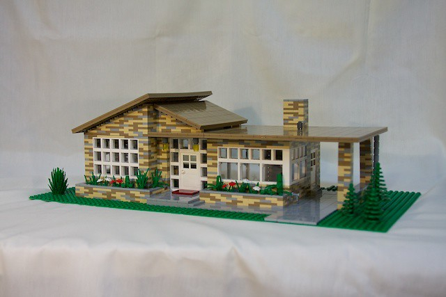 Lego Mid-Century Modern House | My entry in the Dwell ...