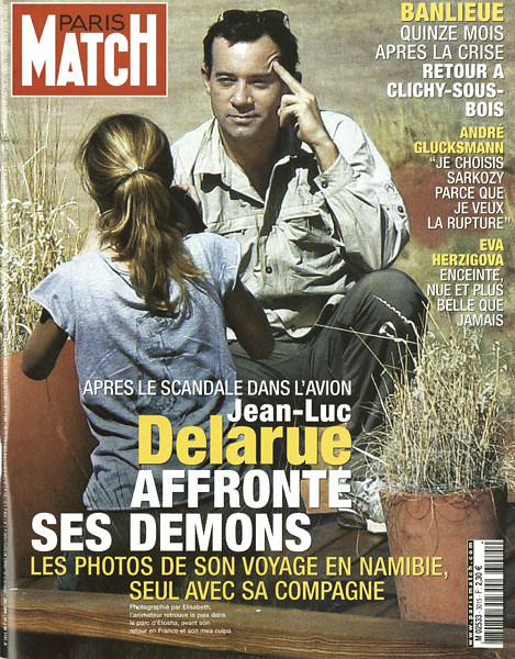couverture du paris match n 3015 du 1er mars 2007 apres flickr. Black Bedroom Furniture Sets. Home Design Ideas