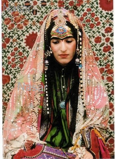 Afghan Bride Afghanistan Woman Bride Traditional Afghan