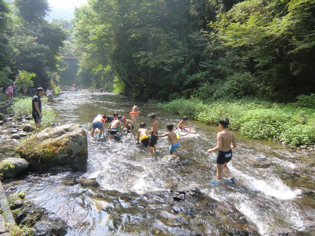 川遊びにbbq-落合キャンプ場(関東 奥多摩 秋川渓谷) ブログ Waox Main Jp P 6240