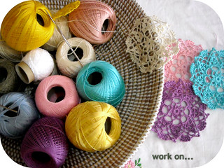 a basket full of colorful | by ♥ Ana's Place ♥