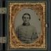 [Lieutenant William Sharpe Barnes, F Company, 4th North Carolina Infantry in frock coat] (LOC)