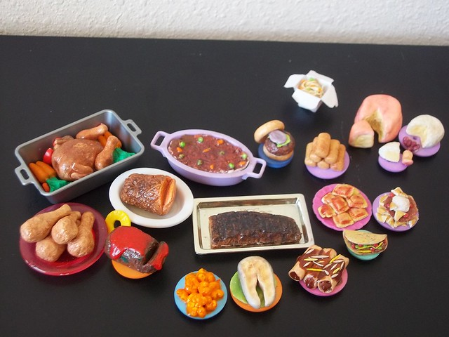 Polymer clay food 1 flickr photo sharing for Polymere cuisine
