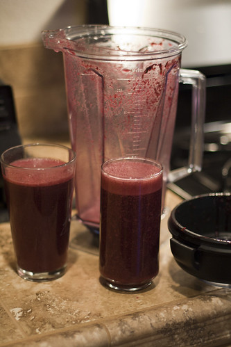 Beet and Blueberry Smoothie | by _Hoot