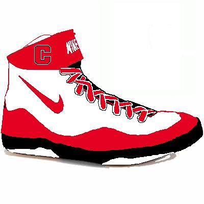 Custom Cornell Nike Inflict wrestling shoes! if anyone can ...