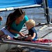 Sailing with Mom
