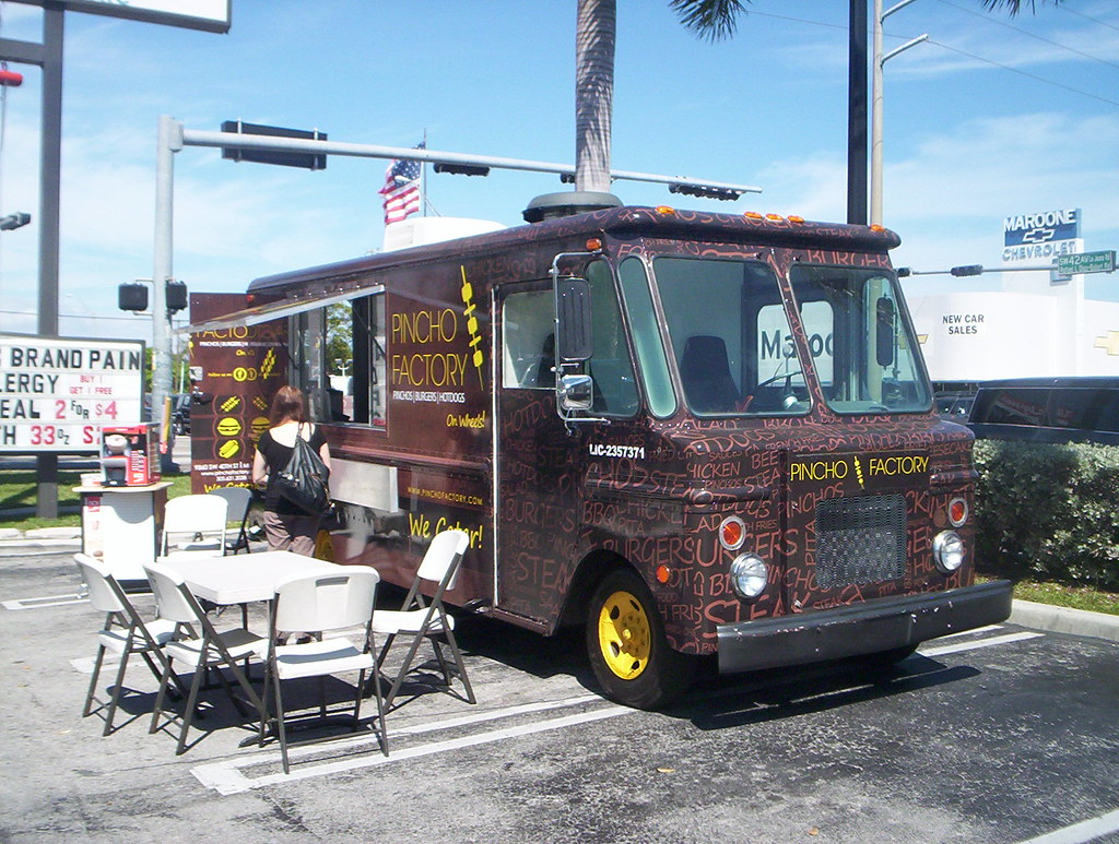 pincho factory food truck miami this is the second time i flickr. Black Bedroom Furniture Sets. Home Design Ideas