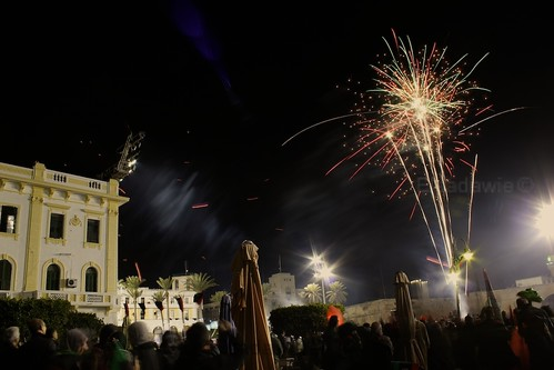 Fireworks at Martyr Square | by Elsadawie