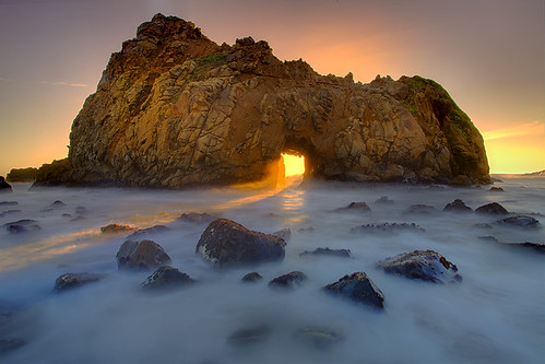 Pfeiffer Beach Big Sur .. Hole In The Wall | by kevin mcneal