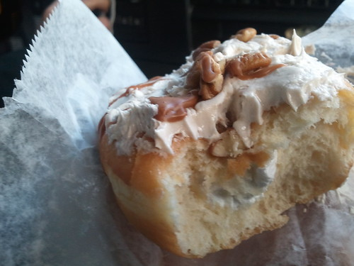 Maple pecan doughnut, Beiler's | by cakespy