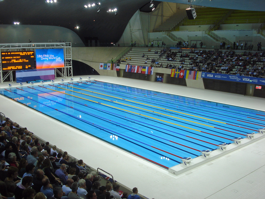 Olympic pool after the olympics this will be newham 39 s new flickr for How much is an olympic swimming pool