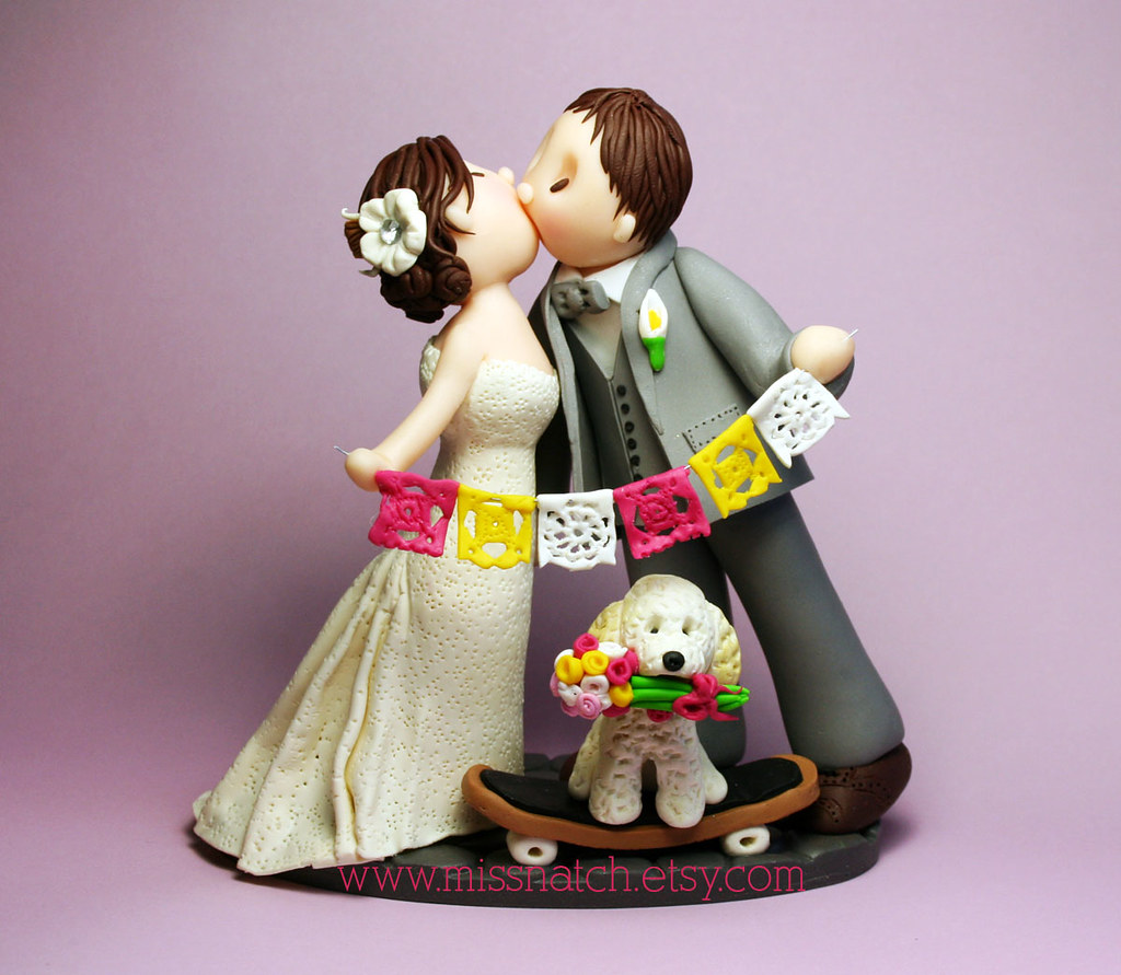 mexican themed wedding cake toppers mexican wedding cake topper missnatch flickr 17284