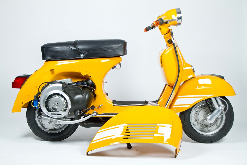 1974 vespa rally 200 13 photoshoot by. Black Bedroom Furniture Sets. Home Design Ideas
