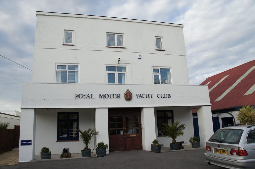 Royal Motor Yacht Club Old Coastguard Road Sandbanks Po Flickr