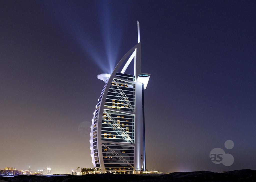 Burj al arab 7 star hotel jumeirah dubai united arab e for Burj al arab 7 star hotel