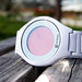 Kisai On Air Acetate White Touch Screen Minimal LCD Watch Design From Tokyoflash Japan