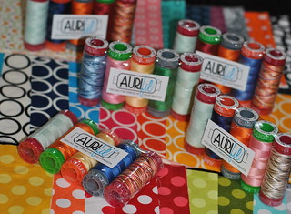 Aurifil Thread | by Lindsay Sews {@CraftBuds}