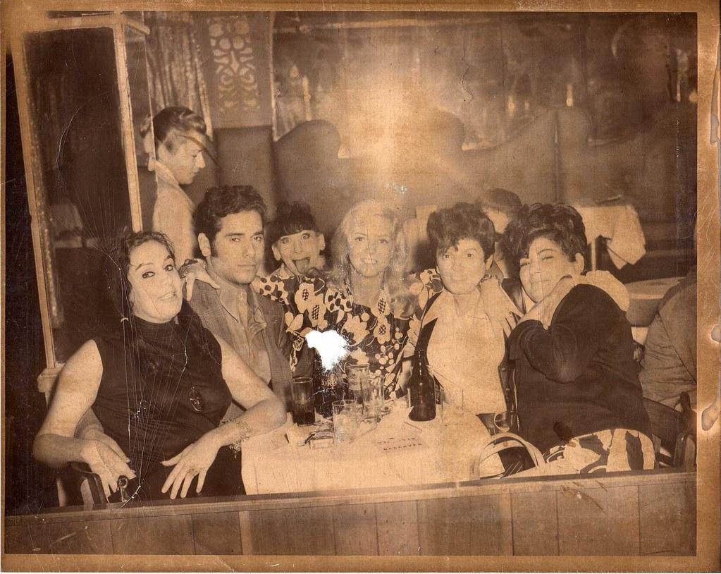 Club 82 1960s NYC Gay Club 1969 L R Elsa Boyfriend