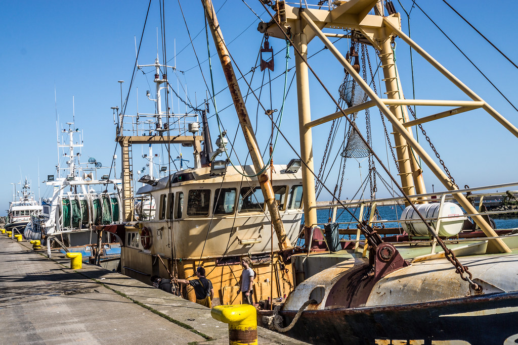 Howth trawler in harbour originally just a small for Murphy s hook house fishing report