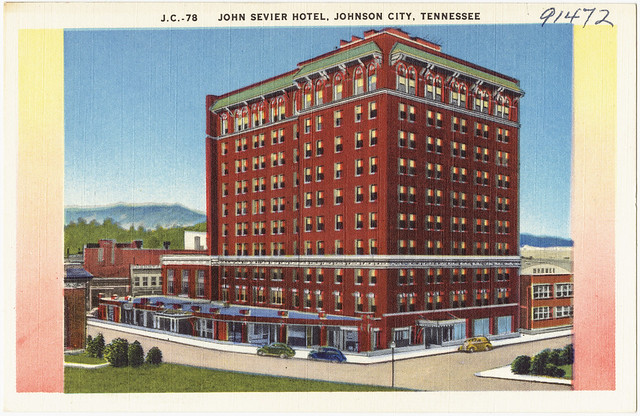 john sevier hotel johnson city tennessee flickr. Black Bedroom Furniture Sets. Home Design Ideas