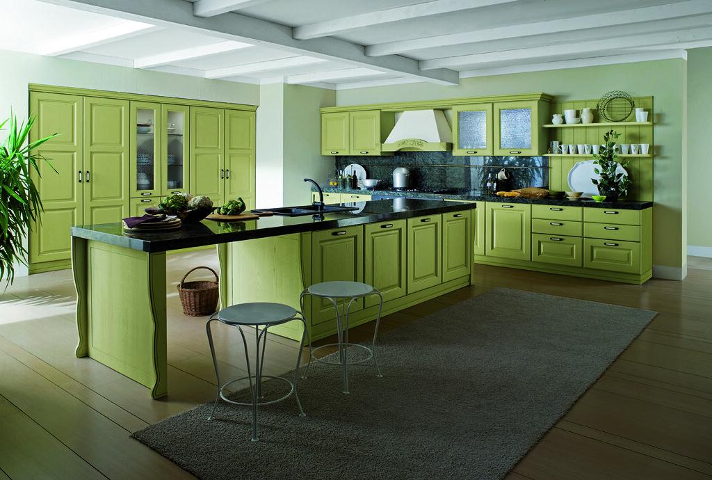 Cucina classica modello Canova mobili verdi  Gicinque Cucin…  Flickr