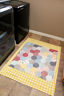 floorcloth- laundry room | by craftapple