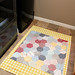 floorcloth- laundry room