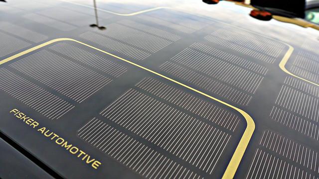 Fisker Karma Solar Panel Roof Flickr Photo Sharing