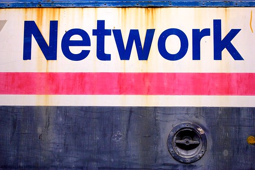 Network (in glorious Helvetica) | by futureshape