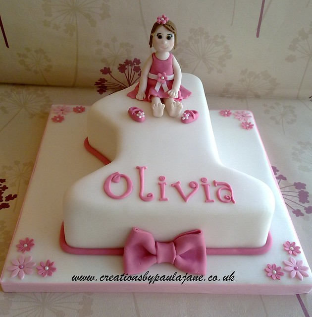 Girls 1st Birthday Cake Flickr - Photo Sharing!