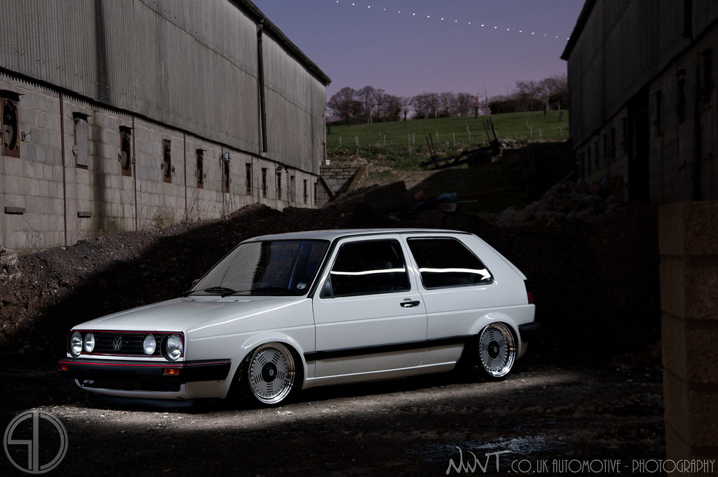 Tims White Volkswagen Golf GTi Mk2 On BMW M1 Wheels | Flickr