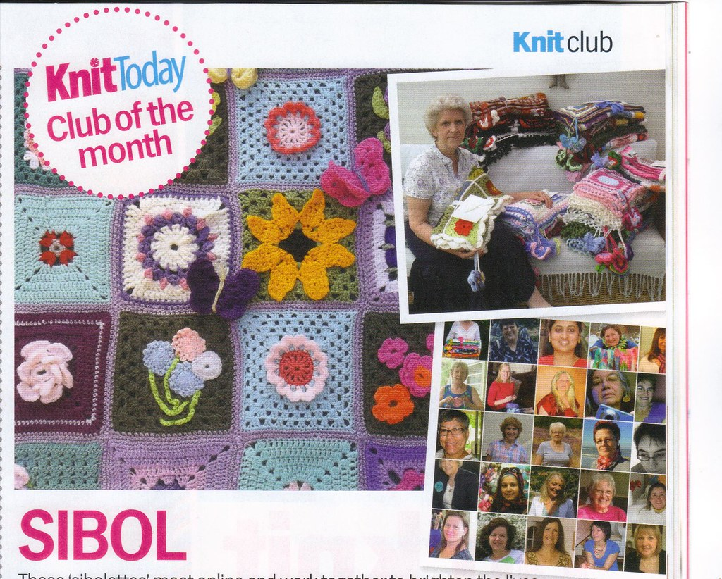 Knitting Club Of The Month : Sibol club of the month knit today magazine april