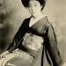 Geiko in an Aranami Kimono 1921