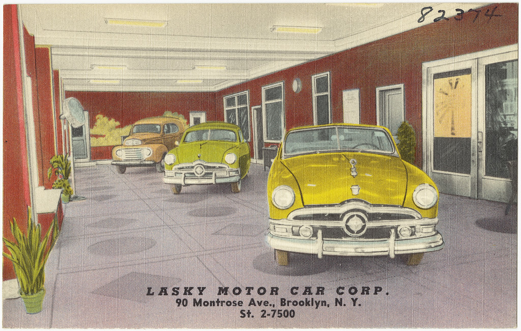 Lasky Motor Car Corp 90 Montrose Ave Brooklyn N Y