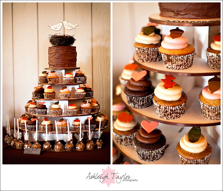 Rustic Wedding Cupcake Ideas: MODelicious: A Rustic Farm Themed Wedding Cupcake Tower