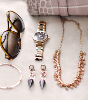 rose gold jewelry and  accessories | by ...love Maegan
