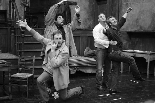 The cast of La bohème in rehearsals for La bohème © Yuri Vorobiev/ROH 2012 | by Royal Opera House Covent Garden